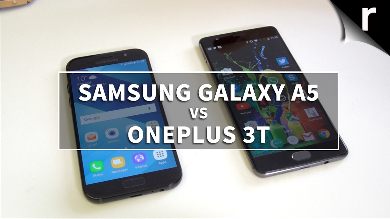e50ddfa98 Samsung Galaxy A5 2017 vs OnePlus 3T: Battle of the mid-range ...