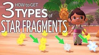 How To Get 3 Types Of Star Fragments In Animal Crossing New Horizons