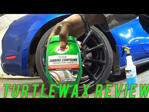 Turtlewax Rubbing Compound How To Polish Car Wheels