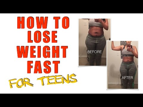 HOW TO LOSE WEIGHT FAST FOR TEENAGERS | NO BS 💯 | CHINACANDYCOUTURE
