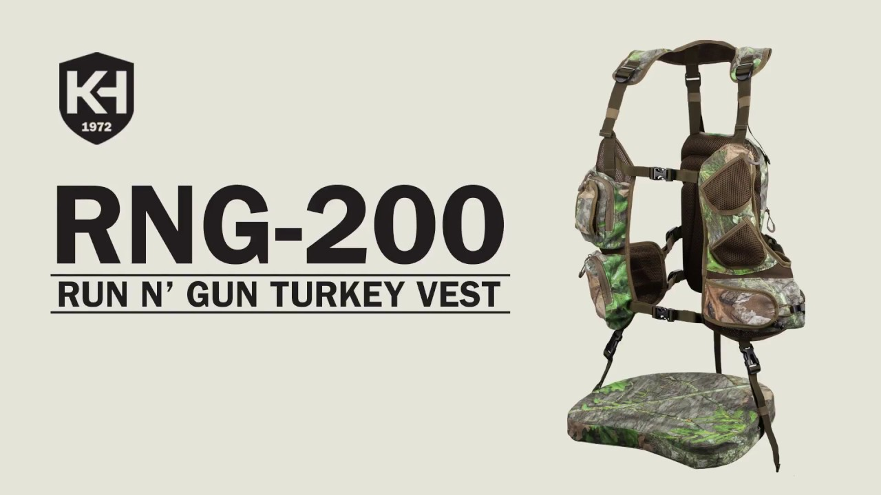 51e437d74b0f1 RNG-200 Turkey Vest - YouTube