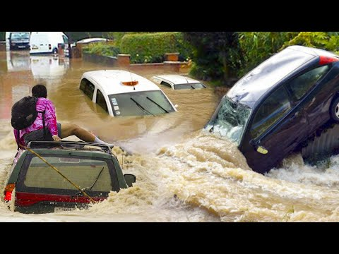 London England Has Turned Into A River - July 2021