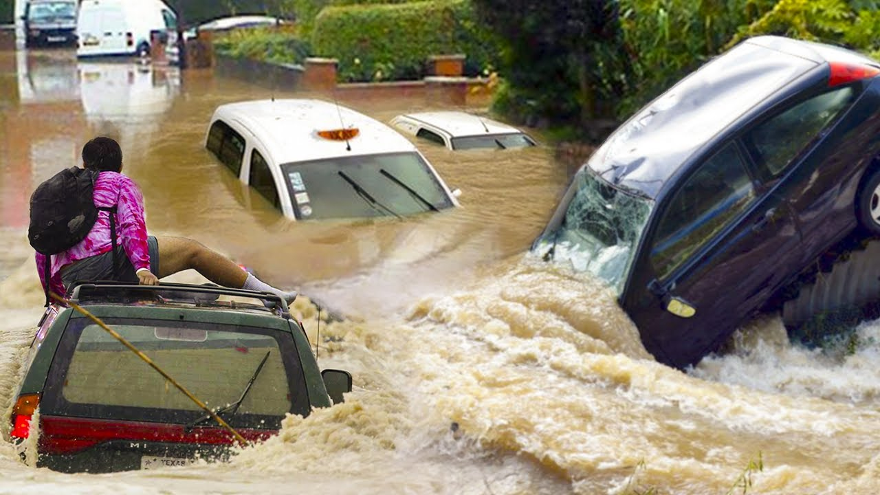 Download London is WASHED AWAY! Craziest Flash Flood in London, England July 2021