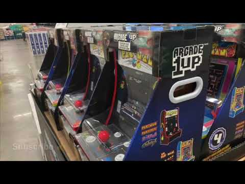 Arcade1Up BJs Wholesale Prices Arcade 1Up Counter Cade Pac Man from rarecoolitems