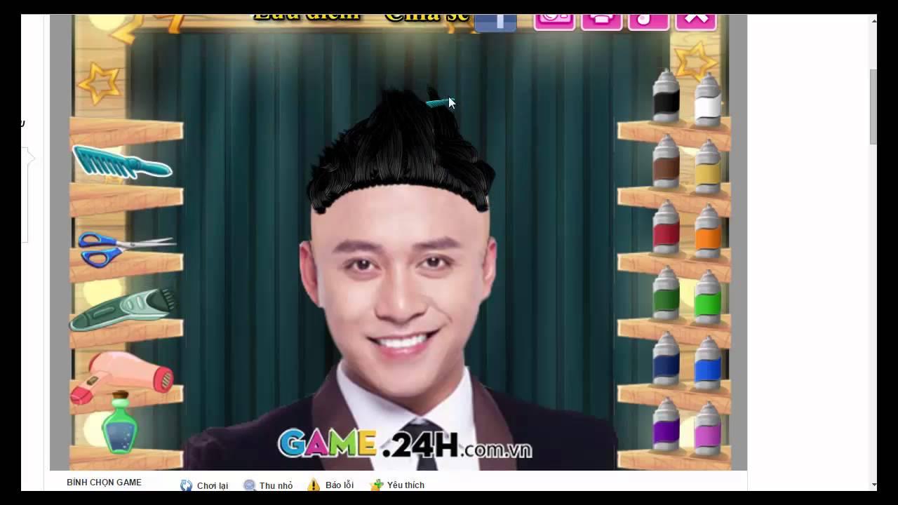 game cắt tóc TUẤN HƯNG tuyệt đỉnh