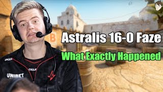 What Happened for Astralis to 16-0 Faze
