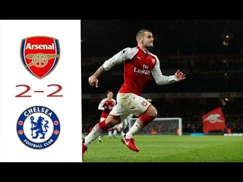 Arsenal vs Chelsea 2 - 2 kịch tính đến phút cuối-Bóng Đá NHP