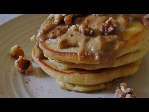 Gluten Free Pumpkin Butter Pancakes
