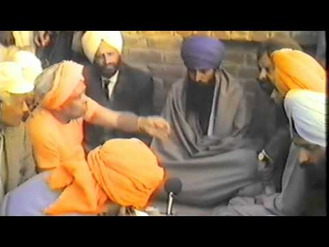 SYVC # 47 V-3 Swami Vishnu & Sant Jarnail Singh Bhindranwale to stop the Golden Temple Massacre 1984