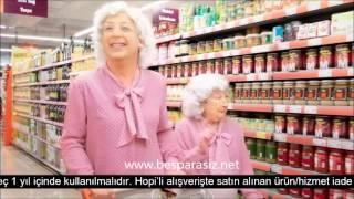 Hopi Migros Reklamı (Yaşlı Teyze )