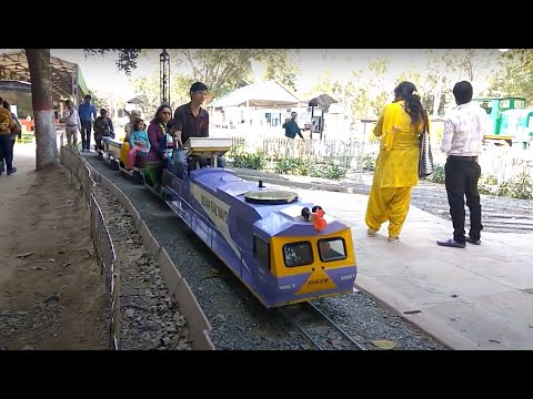 Toy Train at National Rail Museum, New Delhi