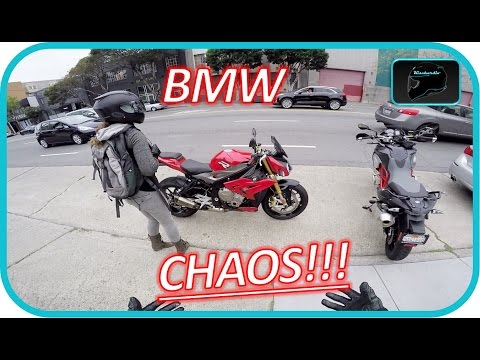 BMW S1000R CHAOS!!! | Test Ride Gets CRAZY!!