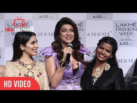 Sushmita Sen Post Interview | Press Conference | Lakme Fashion Week Summer Resort 2017