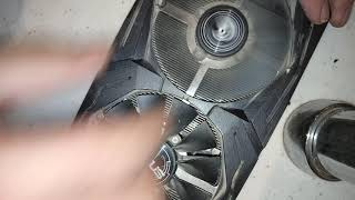 How to fix ASUS-STRIX GPUs Fans - Lubricate / Service !