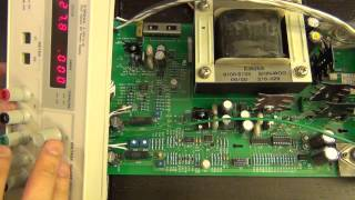 TSP #50 - Teardown and Repair of an Agilent E3620A Dual Power Supply Plus IC Decapping Tutorial
