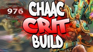 Download lagu Smite Crit Damage Chaac Build ALL THAT CHUCK DADDY DAMAGE MP3