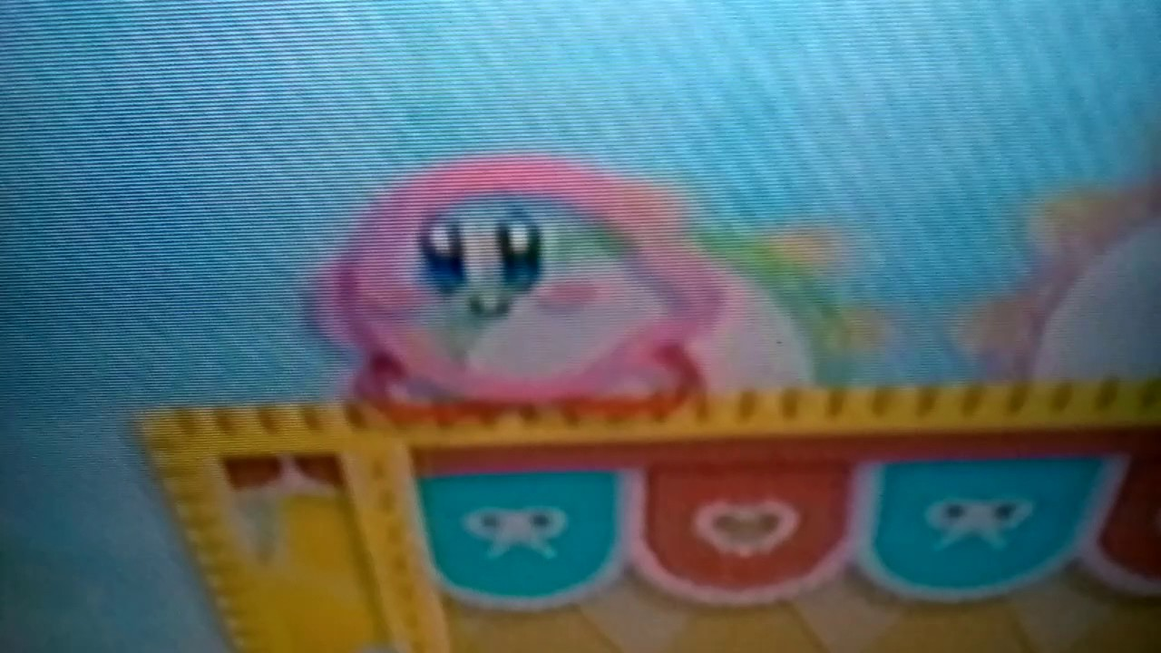 Everybody Do The Waddle Dee Dance Glitch On Kirbys Epic Yarn Wii