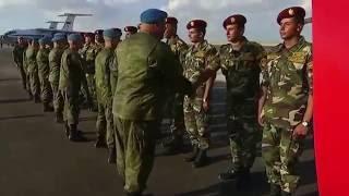 Прибытие российских десантников в Египет на военные учения    Защитники дружбы   2016