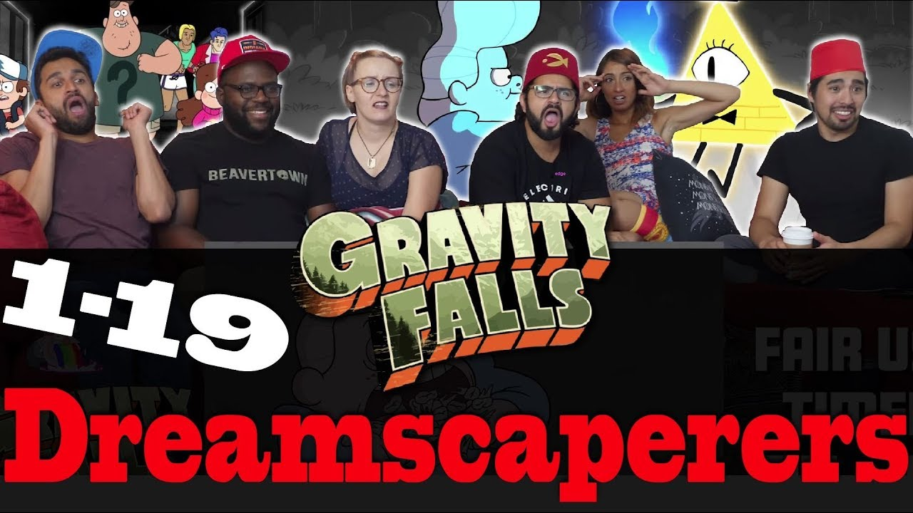 Download Gravity Falls - 1x19 Dreamscaperers - Group Reaction