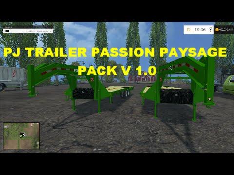 Farming Simulator 2015 Gooseneck Trailers Youtube
