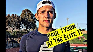 Alabama Quarterback Commitment Paul Tyson talks recruiting and more at Elite 11