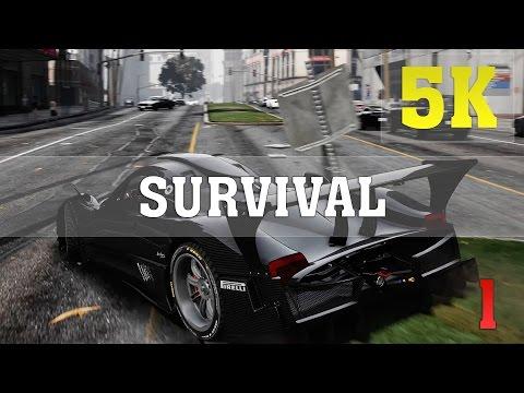 GTA V SURVIVAL - EPISODE 1 5K PC Gameplay | GTX TITAN XP 4 WAY SLI | ThirtyIR