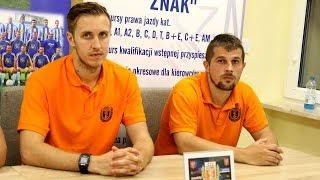 Jó¼wiak i Osoliñski o meczu z Koron± Ostro³êka