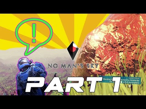 No Man's Sky - Gold Boulders on a Giant Watermelon!? - Episode 1