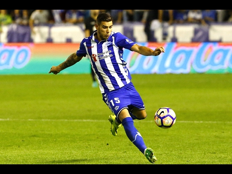 Theo Hernández Skills and Races / Regates y Carreras | Deportivo Alavés 2016/2017|Football Promises