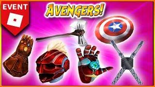 *New* EVENT!? ROBLOX [AVENGERS ENDGAME] 🌟 AWARDS?
