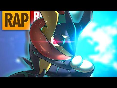 RAP Do GRENINJA - 「 O Pokémon Ninja」Ash-Greninja Pokemon XYZ TCPunters Rap #11