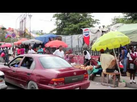 Driving in Port-au-Prince, Haiti (HD)
