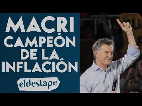 Macri, el campeón de la inflación | El Destape con Roberto Navarro