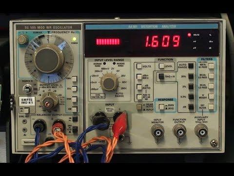Audio Signal Generator TEKTRONIX AS-505 VS CIRCUIT TEST SGA-8200