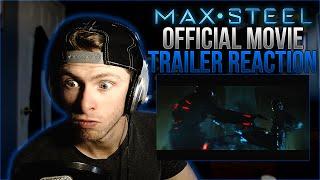 Vapor Reacts #47   Max Steel Official Trailer #1 (2017) - Superhero Movie REACTION!!