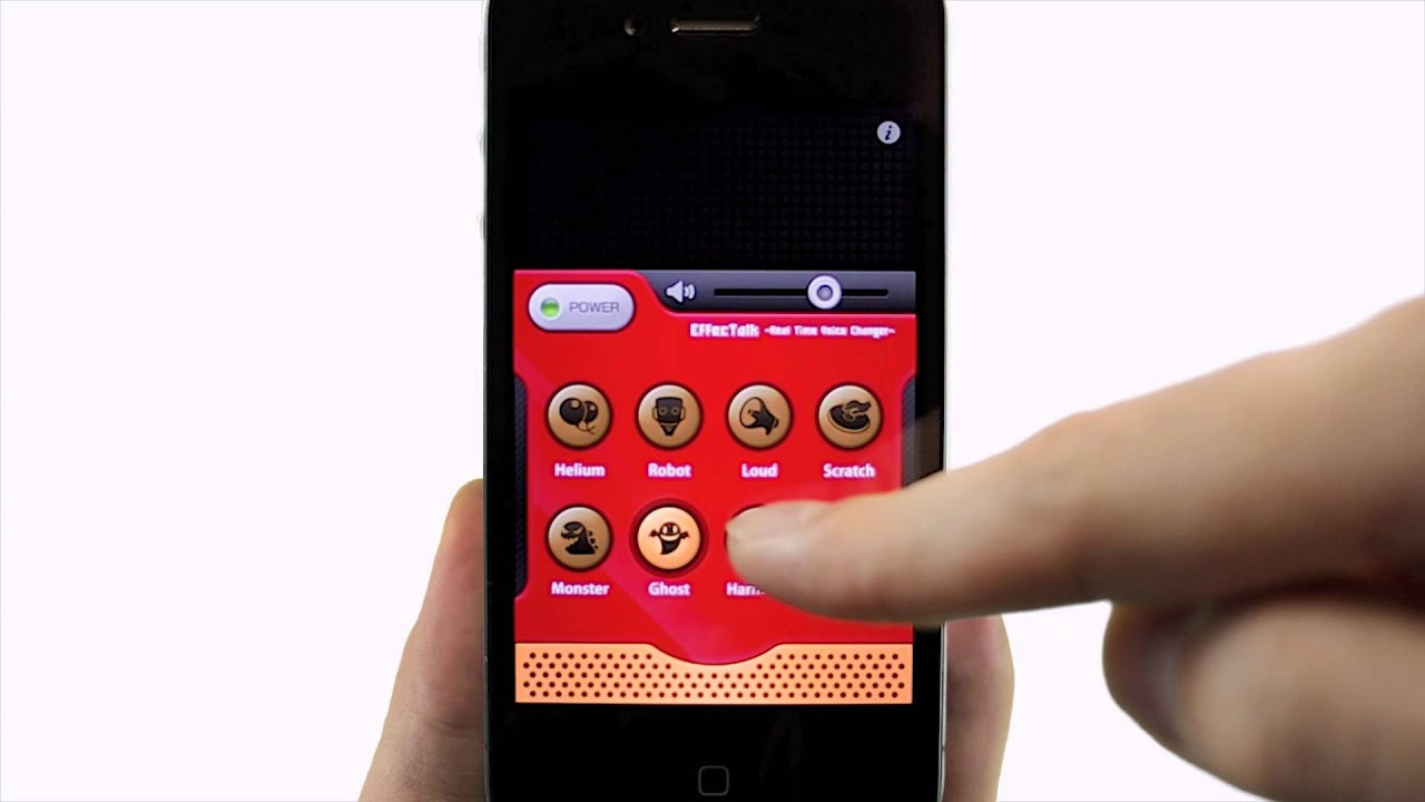 EffecTalk - Real Time Voice Changer- for iPhone / iPod touch