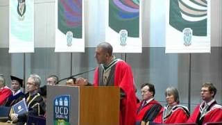"Graduation Day - Diarmaid Ferriter tells the UCD class of 2009 ""You are not the lost generation"""