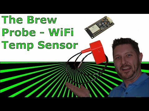 Brew Probe - WiFi Temperature Monitor