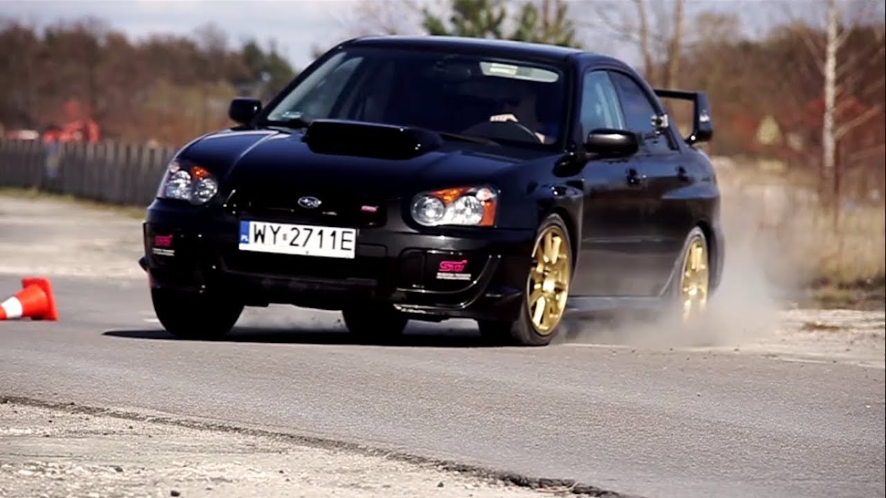 subaru impreza wrx sti 2004 test automocje youtube. Black Bedroom Furniture Sets. Home Design Ideas