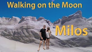 MILOS ISLAND, GREECE | The BEST Beach you HAVE to see!!