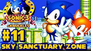 Sonic 3 and Knuckles - (1080p) Part 11 - Sky Sanctuary Zone