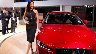 Jaguar XE Launched By Katrina Kaif, Prices At Rs 39.9 lakh - Auto Expo 2016
