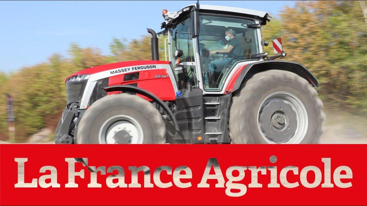Download Prise en main tracteur : Le Massey Ferguson 8S