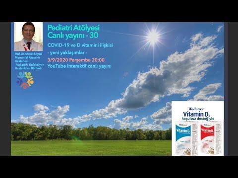 COVID-19 sürecinde D vitamini kullanımı