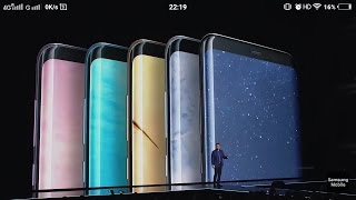 Samsung Galaxy S8 Colors and invisible home buttons