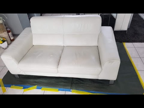 result Angelus leather paint - YouTube