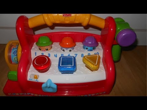 Fisher Price Laugh And Learn Learning Tool Bench Youtube