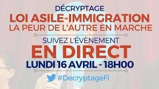 EN DIRECT - Loi asile-immigration : la peur de l'autre en marche - #DecryptageFi