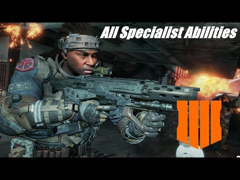 ALL Specialist Abilities In Call Of Duty®: Black Ops 4