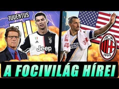 Kőkemény kritikát kapott Ronaldo! Ibra búcsút intett az USA-nak, irány a Milan?